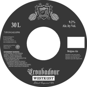 Troubadour West Kust