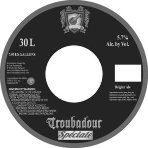 Troubadour Speciale