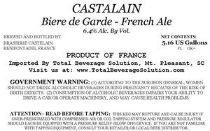 Castalain Biere De Garde