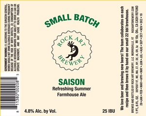 Rock Art Brewery Saison