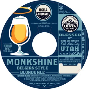 Uinta Brewing Company Monkshine