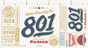 Uinta Brewing Company 801