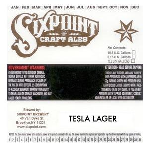 Sixpoint Craft Ales Tesla