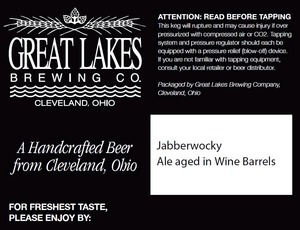 The Great Lakes Brewing Co. Jabberwocky