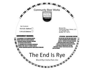 The End Is Rye