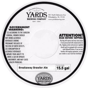 Yards Brewing Company Breakaway Brawler Ale