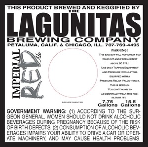 The Lagunitas Brewing Company Imperial Red
