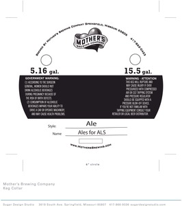 Mother's Brewing Company Ales For Als