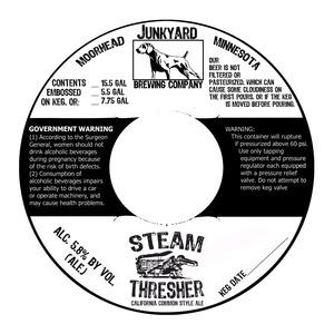 Junkyard Brewing Company Steam Thresher