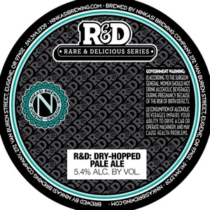 Ninkasi Brewing Company R&d Dry-hopped Pale Ale