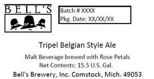 Bell's Tripel Belgian Style Ale