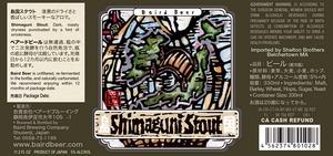 Baird Brewing Company Shimaguni