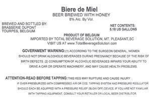 Brasserie Dupont Biere De Miel