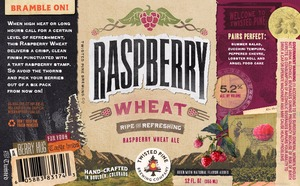 Twisted Pine Raspberry Wheat