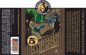 Black Market Brewing Co 5th Anniversary Kentucky Style Common