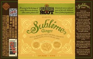 Forbidden Root Benefit Sublime Ginger