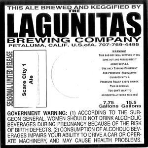 The Lagunitas Brewing Company Scare City 1 June 2014