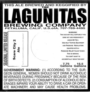 The Lagunitas Brewing Company Scare City 2