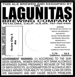The Lagunitas Brewing Company Scare City 3