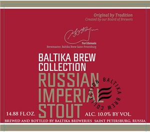 Baltika Brew Collection Russian Imperial Stout