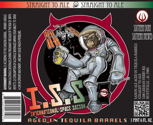 International Space Saison Aged In Tequila Barrels