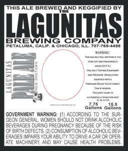 The Lagunitas Brewing Company New Dogtown Pale