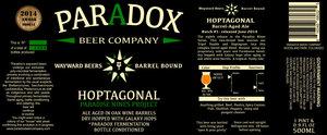 Paradox Beer Company Hoptagonal