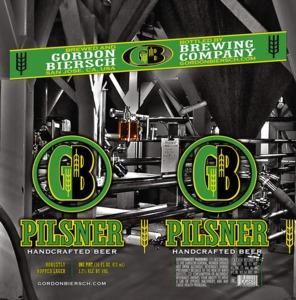 Gordon Biersch Brewing Company Pilsner