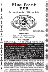 Blue Point Extra Special Bitter