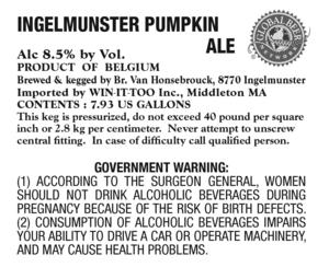 Ingelmunster Pumpkin Ale