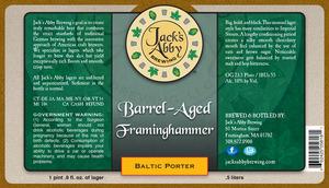 Barrel Aged Framinghammer