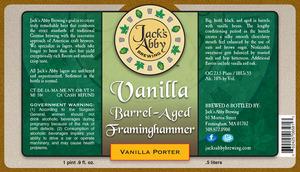 Vanilla Barrel Aged Framinghammer