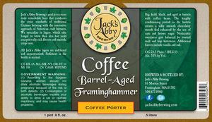 Coffee Barrel Aged Framinghammer