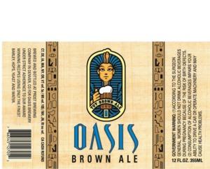 Oasis Brown Ale