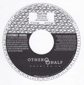 Other Half Brewing Co. Stupid Wild