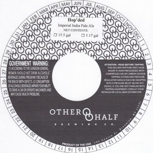 Other Half Brewing Co. Hop'ded