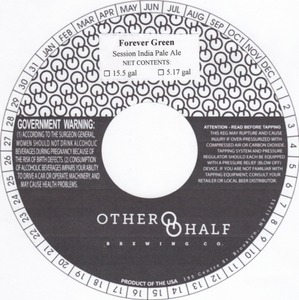 Other Half Brewing Co. Forever Green