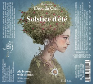 Dieu Du Ciel! Solstice D'ete July 2014