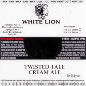 White Lion Twisted Tale