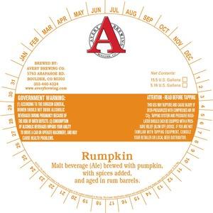 Avery Brewing Company Rumpkin