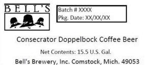 Bell's Consecrator Doppelbock Coffee Beer