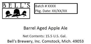Bell's Barrel Aged Apple