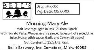 Bell's Morning Mary Ale