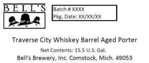 Bell's Traverse City Whiskey Barrel Aged Porter