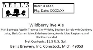 Bell's Wildberry Rye Ale