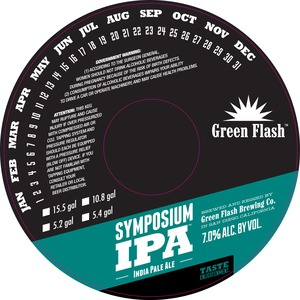 Green Flash Brewing Company Symposium IPA