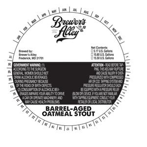 Brewer's Alley Barrel Aged Oatmeal Stout