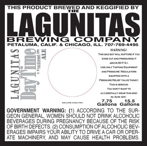 The Lagunitas Brewing Company Daytime A Factional IPA