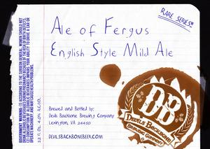 Devils Backbone Brewing Company Ale Of Fergus