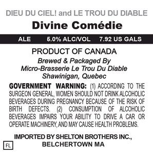 Le Trou Du Diable Divine Comedie